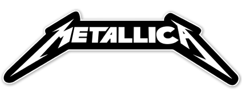 Pegatinas: Metallica heavy metal