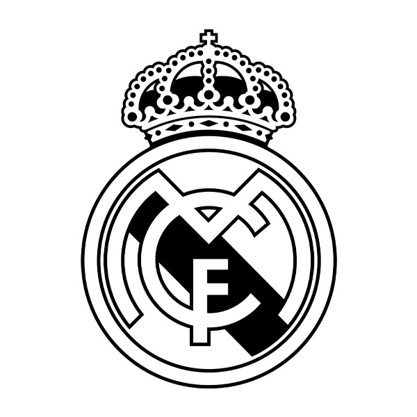 Vinilos Del Real Madrid Futbol Diferentes En Teleadhesivo