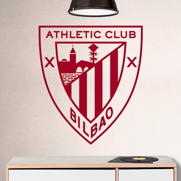 Vinilos Decorativos: Escudo Athletic Club de Bilbao 0