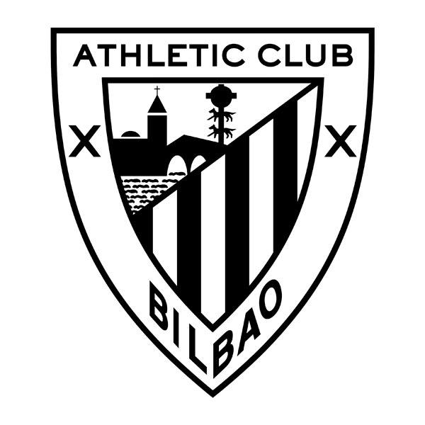 Vinilos Decorativos: Escudo Athletic Club de Bilbao