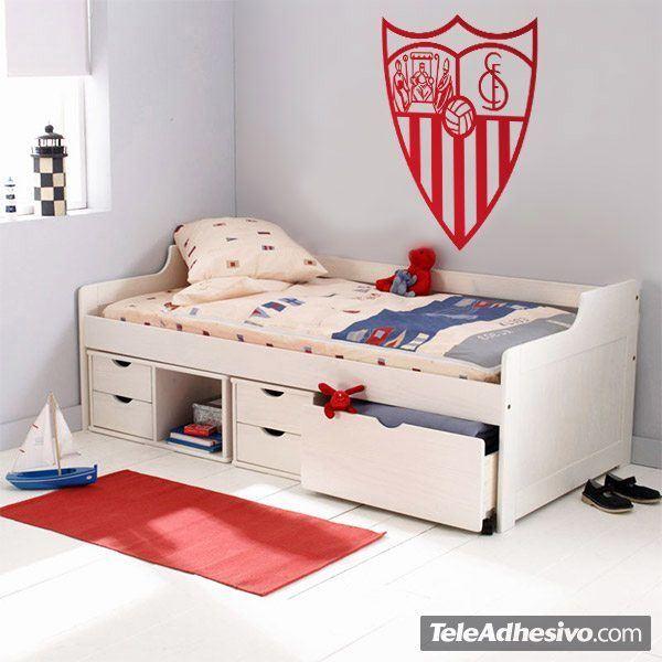 Vinilos Decorativos: Escudo del Sevilla Fútbol Club 2