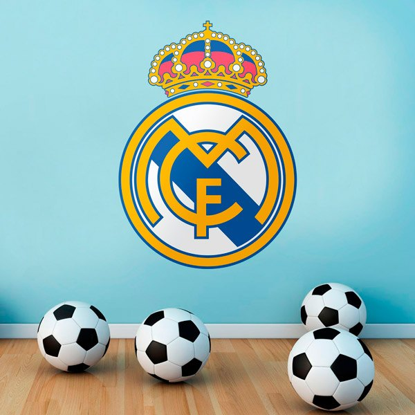 Vinilos Decorativos: Escudo Real Madrid Color