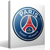 Vinilos Decorativos: Escudo París Saint-Germain PSG Color 3