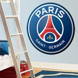 Vinilos Decorativos: Escudo París Saint-Germain PSG Color 4
