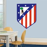 Vinilos Decorativos: Escudo Atlético de Madrid Color 4