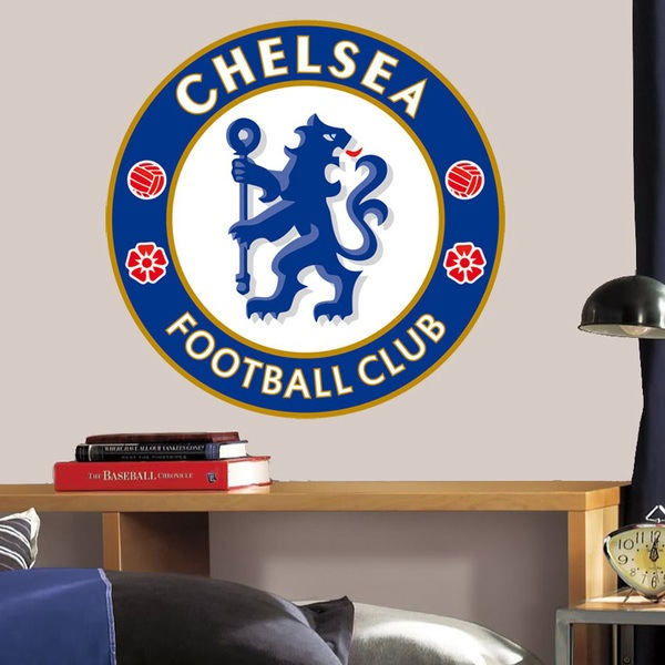 Vinilos Decorativos: Escudo Chelsea FC Color 1
