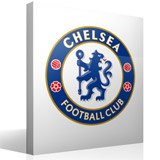 Vinilos Decorativos: Escudo Chelsea FC Color 3