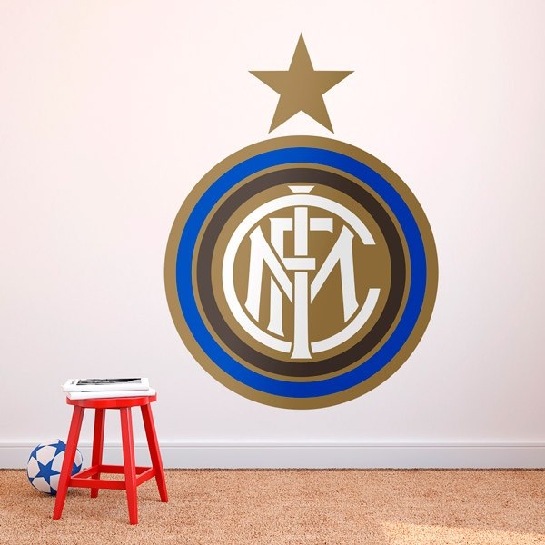 Vinilos Decorativos: Escudo Inter de Milan Color