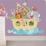 Vinilos Infantiles: El arca de Noé color 3