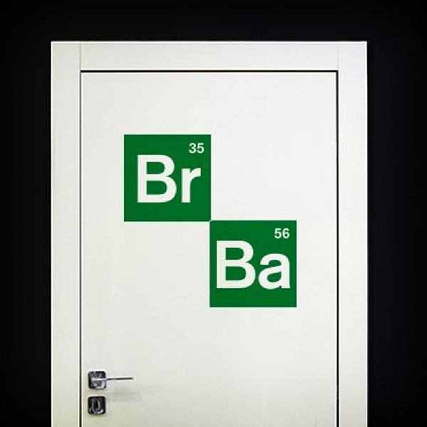 Vinilos Decorativos: Logo Breaking Bad 2