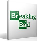Vinilos Decorativos: Logo Breaking Bad 1 2