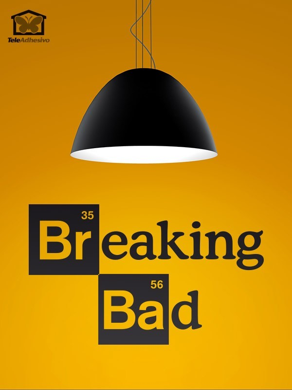 Vinilos Decorativos: Logo Breaking Bad 1