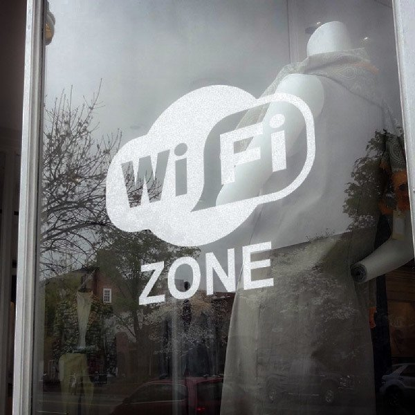 Vinilos Decorativos: Wifi zone