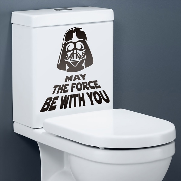Vinilos Decorativos: May the force be with you 0