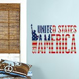 Vinilos Decorativos: United States of America 3