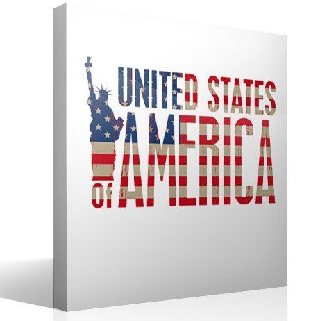 Vinilos Decorativos: United States of America