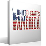 Vinilos Decorativos: United States of America 4