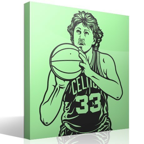 Vinilos Decorativos: Larry Bird 1
