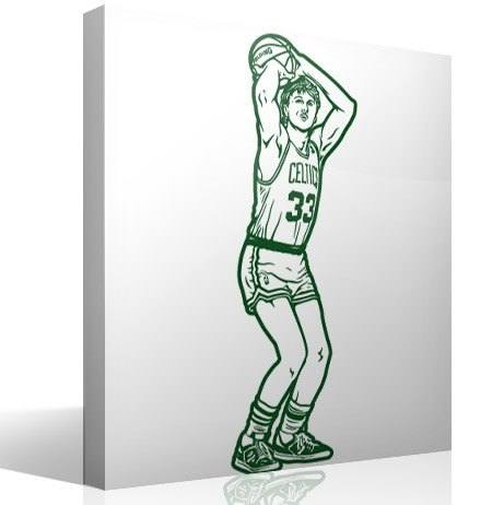 Vinilos Decorativos: Larry Bird 2