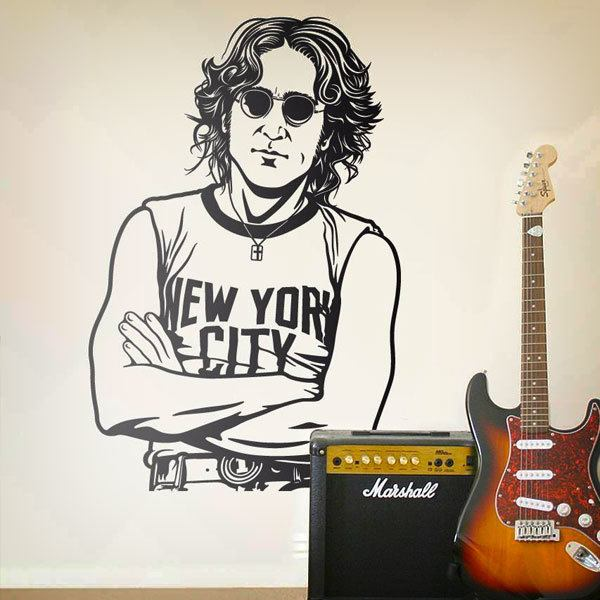 Vinilos Decorativos: John Lennon - New York City