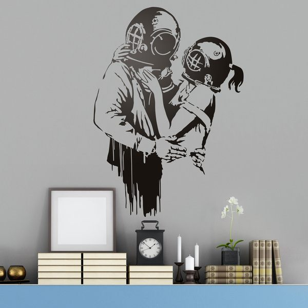 Vinilos Decorativos: Think Tank de Banksy