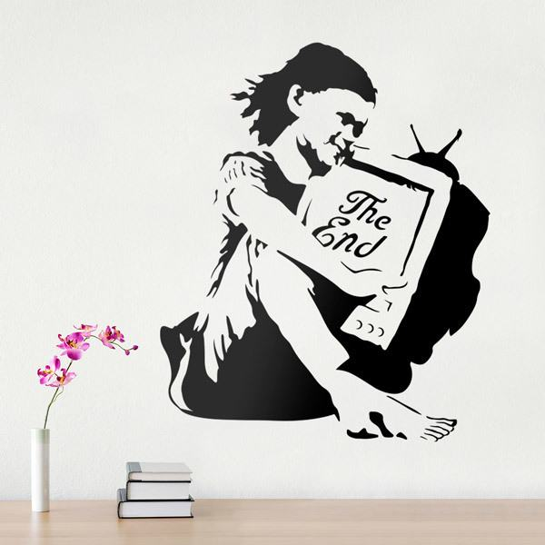 Vinilos Decorativos: Banksy The End