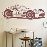 Vinilos Decorativos: Mercedes-Benz W196 2