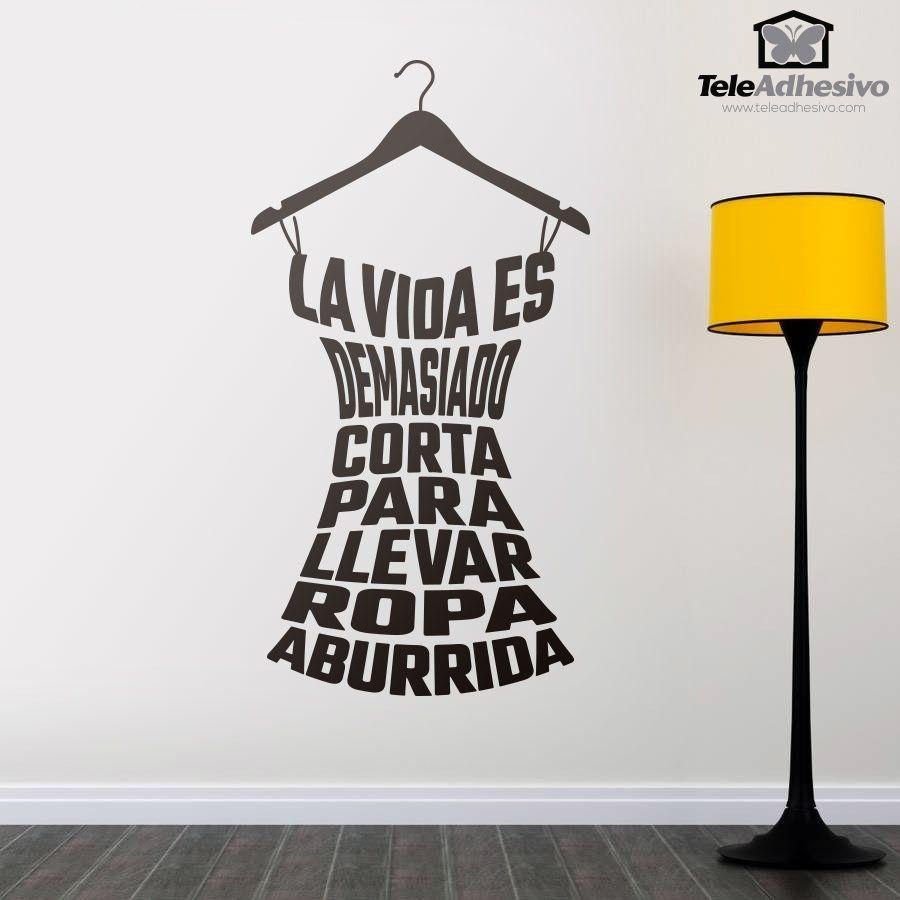 Pegatinas de vinilo con frases y poemas en teleadhesivo for Vinilo exterior pared