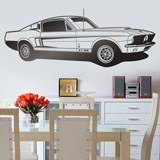 Vinilos Decorativos: Ford Mustang Shelby GT 500 2