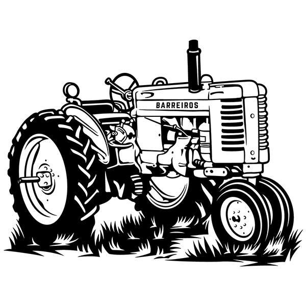 Vinilo Decorativo Tractor