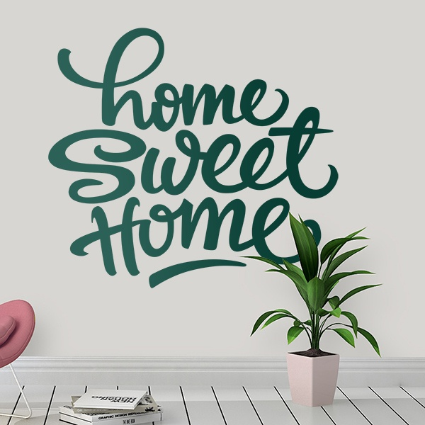 Vinilos Decorativos: Home Sweet Home 0