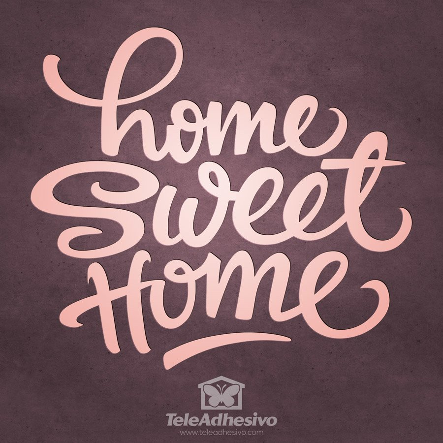 Vinilos Decorativos: Home Sweet Home 2