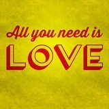Vinilos Decorativos: All you need is love 3