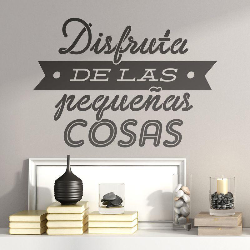 Comprar vinilos decorativos de frases en teleadhesivo - Vinilos decorativos frases ...