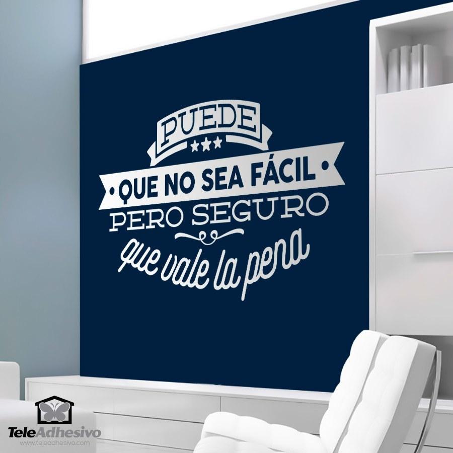 Comprar adhesivos de frases motivadoras teleadhesivo for Vinilos para pared baratos