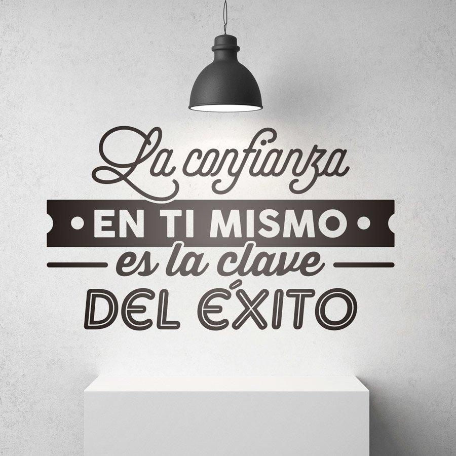 Vinilos autoadhesivos con frases motivadoras teleadhesivo for Vinilos decorativos letras