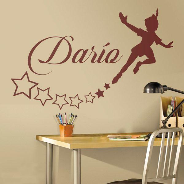 Vinilo Decorativo Infantil Peter Pan Personalizado