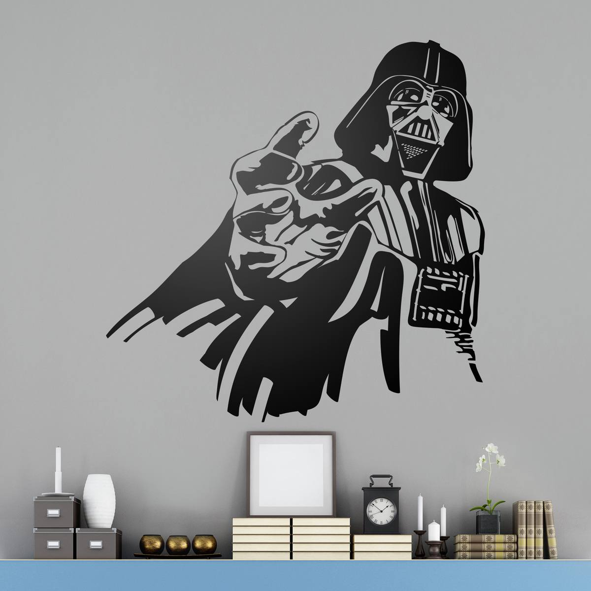 compra vinilos decorativos de darth vader teleadhesivo. Black Bedroom Furniture Sets. Home Design Ideas