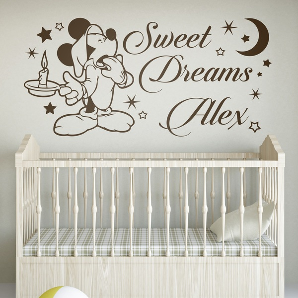 Vinilos Infantiles: Mickey Mouse, Sweet Dreams
