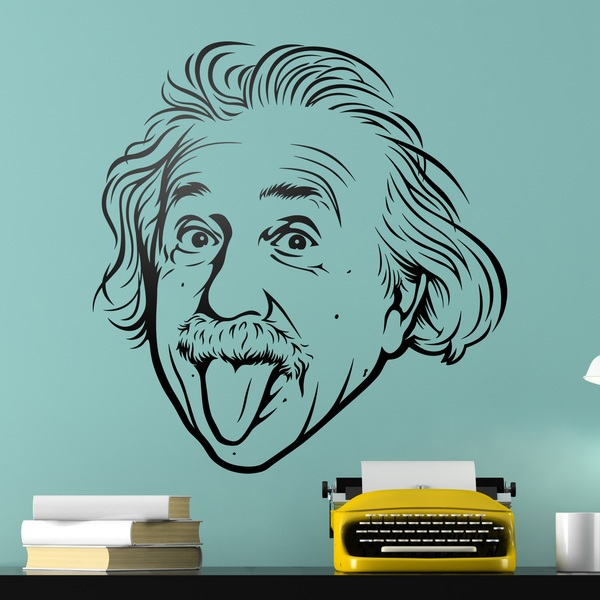 Vinilos Decorativos: Albert Einstein
