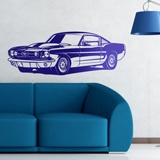 Vinilos Decorativos: Ford Mustang Shelby GT350 - 1966 2