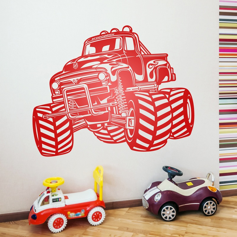 Vinilos Decorativos: Monster Truck BigFoot
