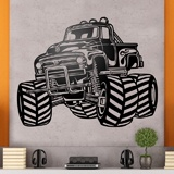 Vinilos Decorativos: Monster Truck BigFoot 3