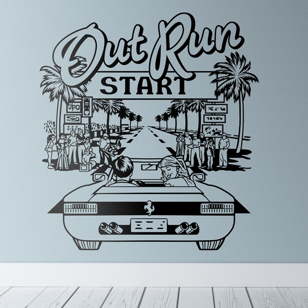 Vinilos Decorativos: Out Run