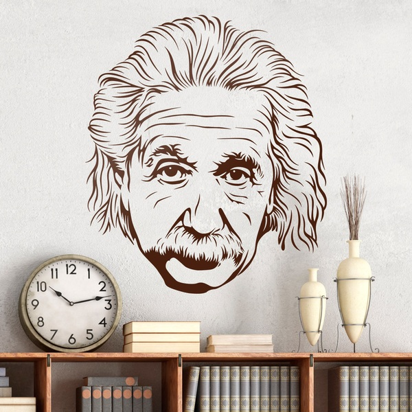 Vinilos Decorativos: Albert Einstein 2