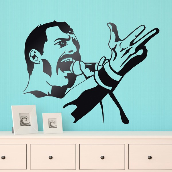 Vinilos Decorativos: Freddy Mercury Queen 0