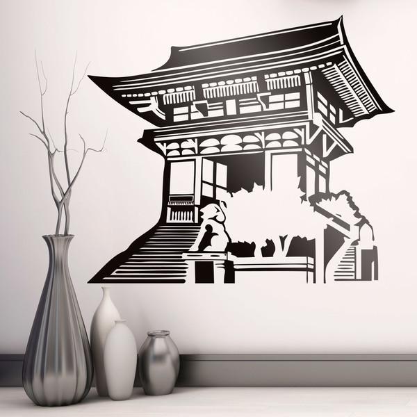 Vinilo decorativo templo oriental - Vinilos decorativos zen ...