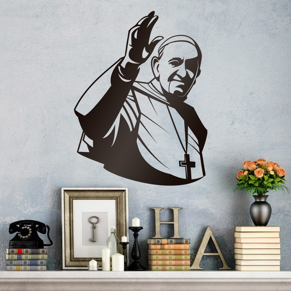 Vinilos Decorativos: Papa Francisco