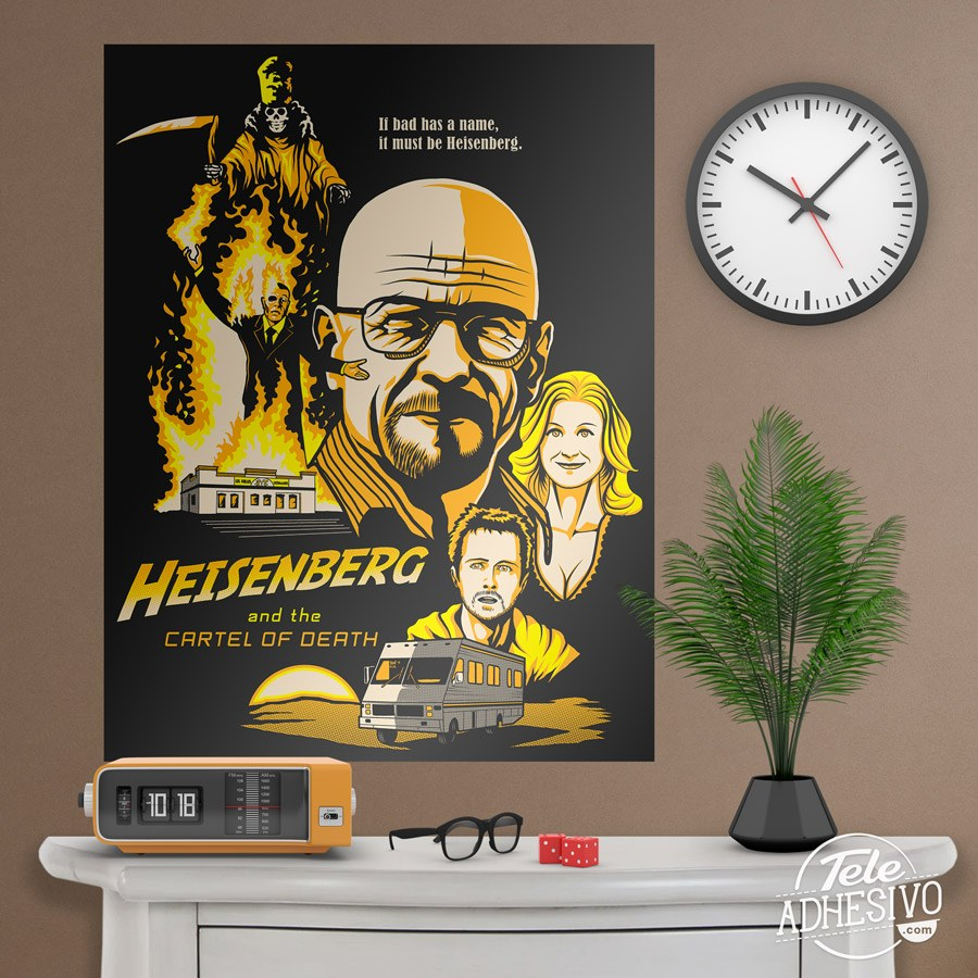 Vinilos Decorativos: Póster adhesivo Breaking Bad 5