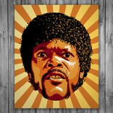 Vinilos Decorativos: Jules Winnfield, Pulp Fiction 3